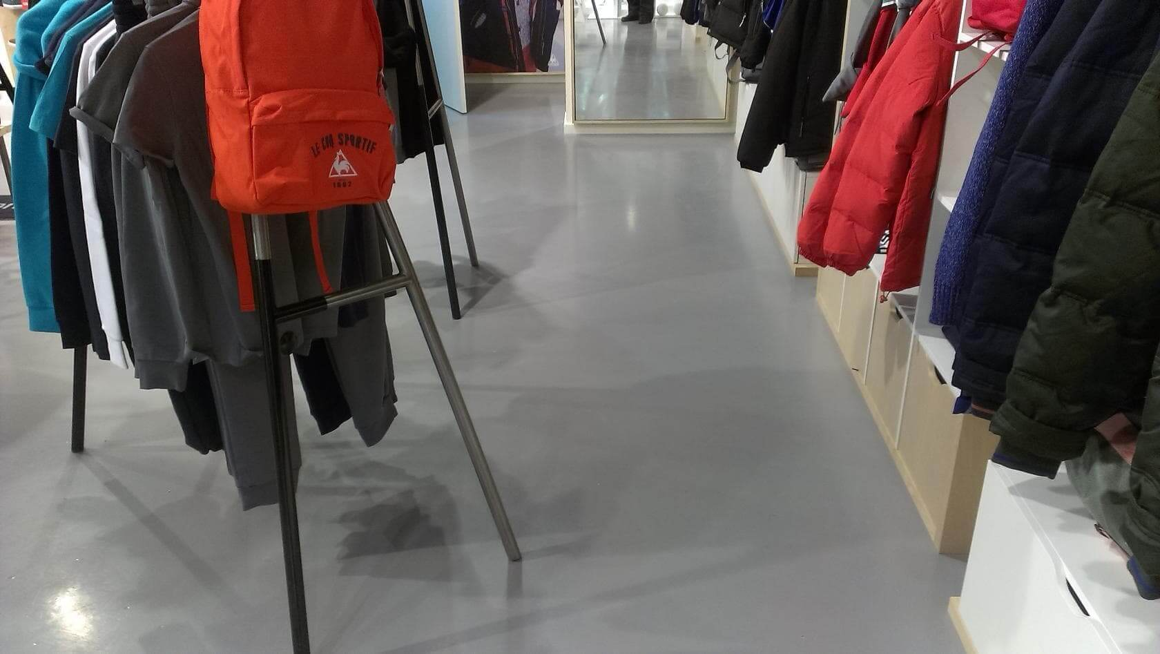 наливной пол для магазина
