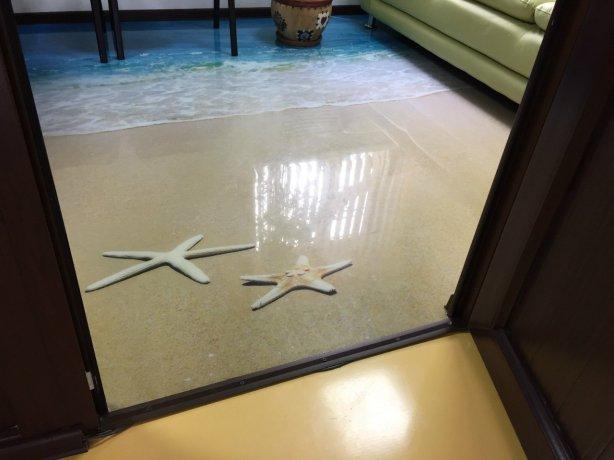 наливной пол в квартиру